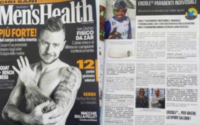 """Anche la prestigiosa rivista """"Men's Health"""" dedica un articolo al nostro Paradenti Professionale Ercole"""